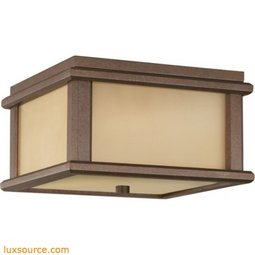 Mission Lodge  Light Ceiling Fixture - 2 - Light