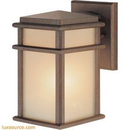 Mission Lodge Light Wall Lantern - Small-1 - Light
