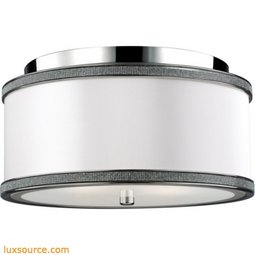 Pave Light Crystal Inlay Flush - 2 - Light