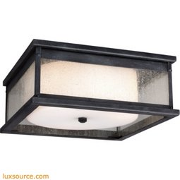 Pediment Light Outdoor Flush - 3 - Light