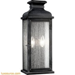 Pediment Light Outdoor Sconce - Large - 2 - Light