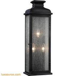 Pediment Light Outdoor Sconce - Large - 3 - Light
