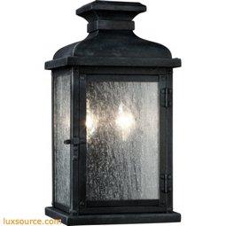 Pediment Light Outdoor Sconce - Small - 2 - Light