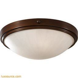 Perry Light Indoor Flush Mount - 1 - Light - Opal - LED - 2700K 90 CRI