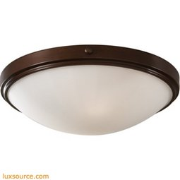 Perry Light Indoor Flush Mount - 2 - Light - Opal