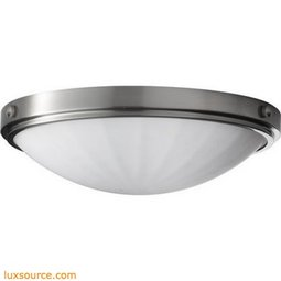 Perry Light Indoor Flush Mount - 2 - Light - White
