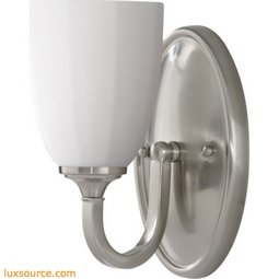 Perry Light Vanity Fixture - 1 - Light - White