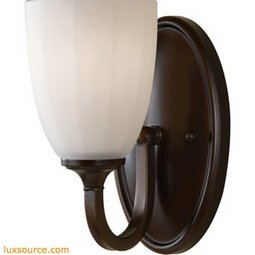Perry Light Vanity Fixture - 1 - Light - Opal