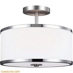 Prospect Park Light Semi-Flush - 2 - Light
