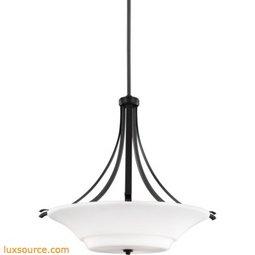 Summerdale Light Uplight Pendant - 3 - Light - Opal