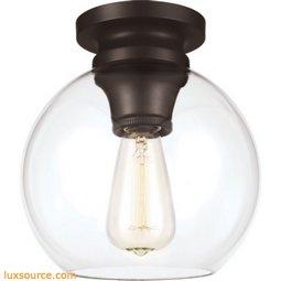 Tabby Light Flushmount - 1- Light