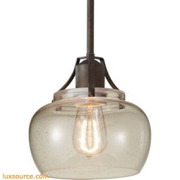 Urban Renewal Light Mini Pendant - 1 - Light - Clear