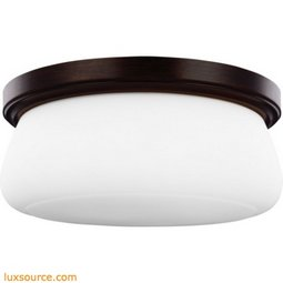 Vintner Light Flush - 3 - Light - White