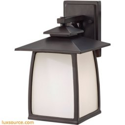 Wright House Light Outdoor Lantern - 1- Light - White