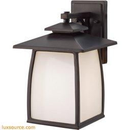 Wright House Light Outdoor Lantern - 1 - Light -Opal