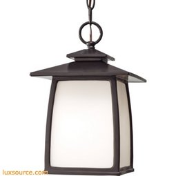 Wright House Light Outdoor Lantern - 1 - Light - White