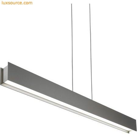 linear suspended lighting. Vandor Linear Suspension - Gray LED Suspended Lighting