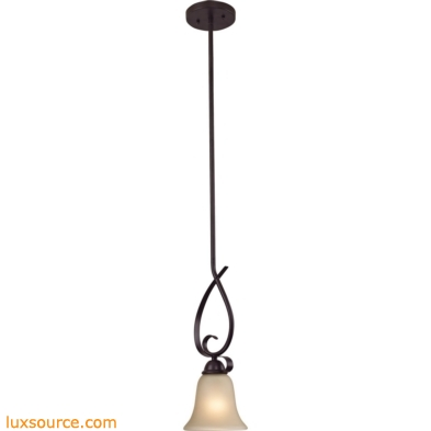 Brighton 1 Light Mini Pendant In Oil Rubbed Bronze