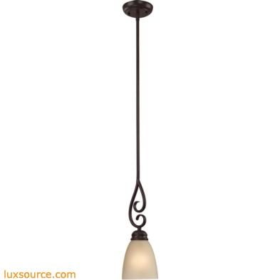 Chatham 1 Light Mini Pendant In Oil Rubbed Bronze 1101PS/10