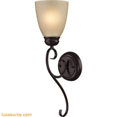 Chatham 1 Light Sconce In Oil Rubbed Bronze 1101WS/10