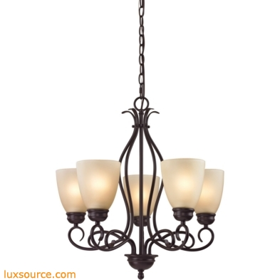 Chatham 5 Light Chandelier In Oil Rubbed Bronze 1105CH/10