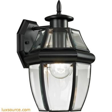 Ashford 1 Light Exterior Coach Lantern In Black