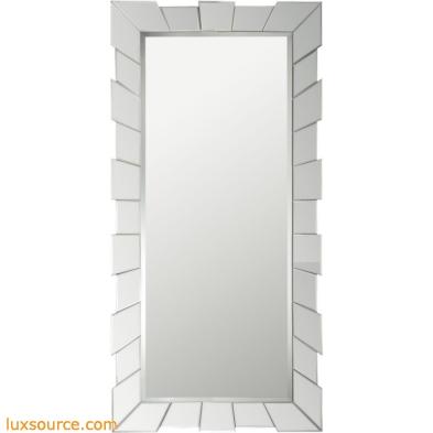 Glass Cog Mirror