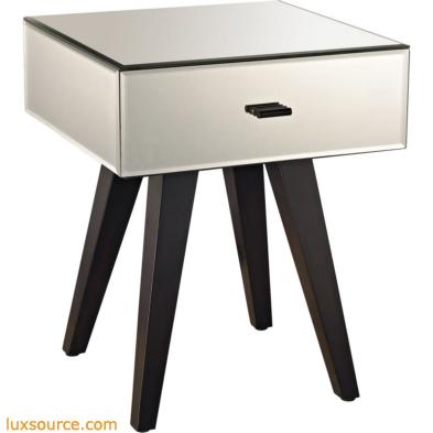 Modern Mirror Leg Side Table