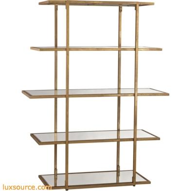 Diamond Gold Leaf Frame Shelf