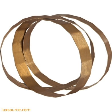Asymmetric Ovals Table Top Sculpture