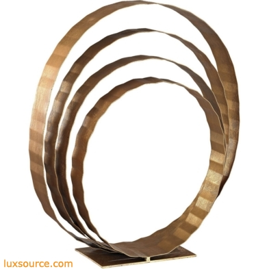 Concentric Rings Table Top Sculpture