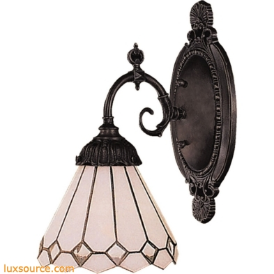 Mix-N-Match 1 Light Wall Sconce In Tiffany Bronze 071-TB-04