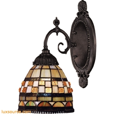 Mix-N-Match 1 Light Wall Sconce In Classic Bronze 071-TB-10