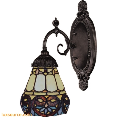 Mix-N-Match 1 Light Wall Sconce In Tiffany Bronze 071-TB-21