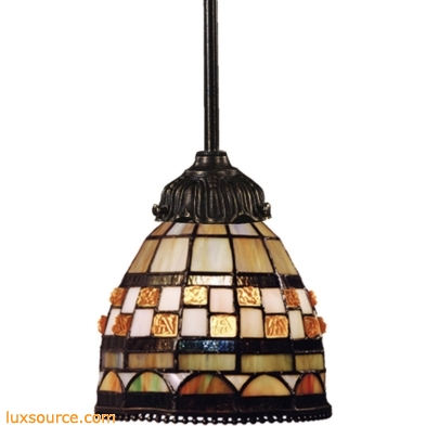 Mix-N-Match 1 Light Pendant In Classic Bronze 078-TB-10