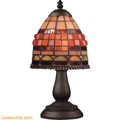 Mix-N-Match 1 Light Table Lamp In Classic Bronze 080-TB-10