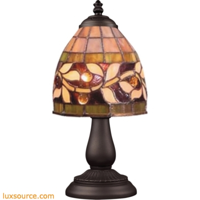 Mix-N-Match 1 Light Table Lamp In Tiffany Bronze 080-TB-17