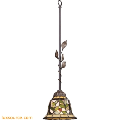 Latham 1 Light Pendant In Tiffany Bronze