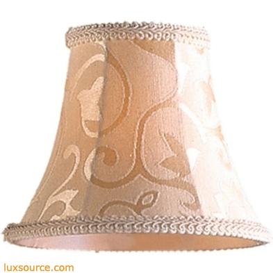Elizabethan Mini Shade In Patterned Beige Fabric 1023