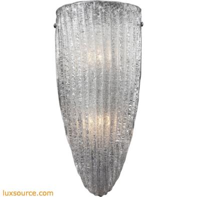 Luminese 2 Light Sconce In Satin Nickel