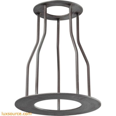 Cast Iron Pipe Optional Cage Shade 1029