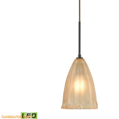 Calipsa 1 Light LED Pendant In Oil Rubbed Bronze 10439/1-LED