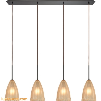 Calipsa 4 Light Pendant In Oil Rubbed Bronze 10439/4LP