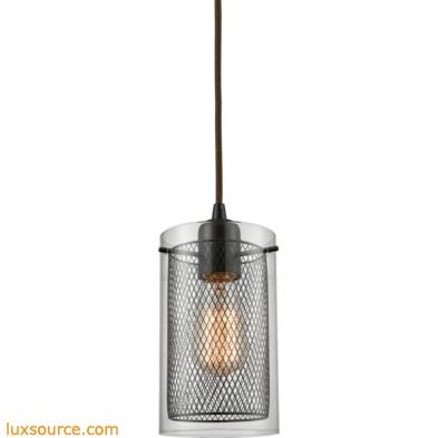 Brant 1 Light Pendant In Oil Rubbed Bronze 10448/1