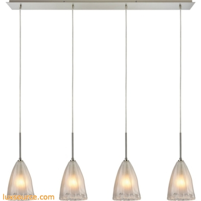 Calipsa 4 Light Pendant In Satin Nickel 10449/4LP
