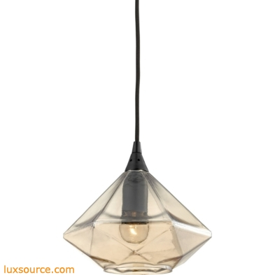 Geometrics 1 Light Pendant In Oil Rubbed Bronze 10450/1