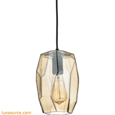 Geometrics 1 Light Pendant In Oil Rubbed Bronze 10451/1
