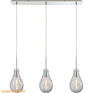 Cirrus 3 Light Pendant In Polished Chrome 10463/3LP