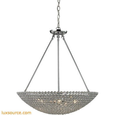 Hammond 5 Light Pendant In Polished Chrome