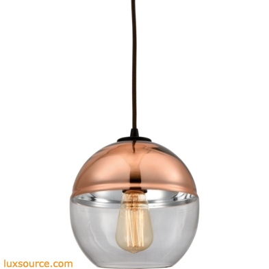 Revelo 1 Light Pendant In Oil Rubbed Bronze 10490/1